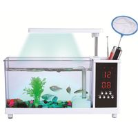 KangWei KW2014A Home decorations acrylic mini fish tanks cichlids large round artificial coral reef