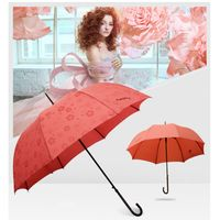 Easily Straight lovely princess Creative,ladies umbrella,color change in water ,magic umbrella