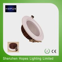 ultra slim 4'' 12W fashion design led ceiling down light