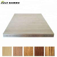 Formaldehyde-Free 3 Ply Bamboo Sheet Lumber Natural Bamboo Plywood