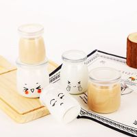 Clear Pudding Glass Jar thumbnail image