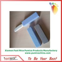 foam pumice sponge stick with handle for toilet cleaning stone thumbnail image