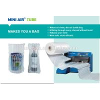 MINI air bubble wrap machine TUBE for wine bottle bag