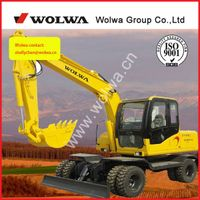 manufacturer supply DLS 880-9Atons Wheeled excavator