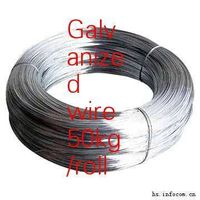 galvanized steel wire with big coil (factory)
