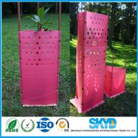 PP corrugated plastic sheet tree guard