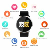 W1 Bluetooth Smart Watch Heart Rate Blood Pressure Blood Oxygen Monitoring Reminder Information For