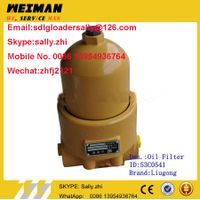 original Hydraulic Oil Filter, 53C0541 in yellow colour for liugong wheel loader