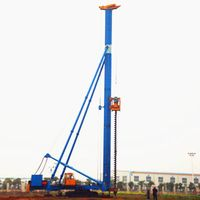 Hydraulic Foot-step Rotary Drilling Rig