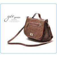 Famous brand OEM high quality women shoulder handbag