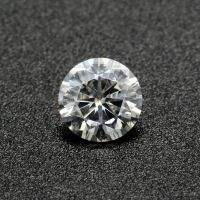 Superior White Round 8H&8A Moissanite