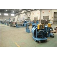 Fuchuan FC-70+35 Automobile wire high speed extruder line with high performance