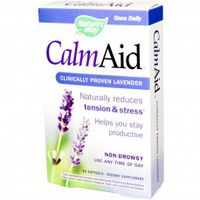 Megavitamins - Silexan Calm Aid Clinically Proven Lavender Nature's Way Dietary Supplement