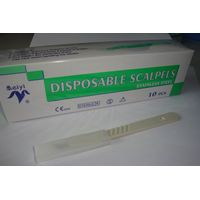 sterile surgical scalpel