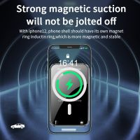 15W MagSafe Car Vent Mount iPhone 12 Charger PM-H16 thumbnail image