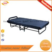 Factory direct supply deluxe spring extra folding bed Kunda A-017
