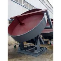 Disc granulator raw materials and structure thumbnail image