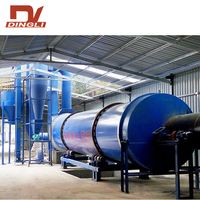 Paddle Stirring Drum Rotary Dryer for Starch Dregs thumbnail image