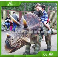 KAWAH Mini Amusement Park Walking Dinosaur Rides for kids
