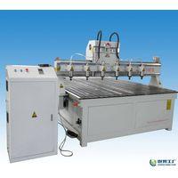 CUSTOM MULTI SPINDLES PLASTIC SHEET CARVING CNC MACHINE