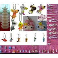 Handicraft  pendent  Crystal jewelry beads necklace Earring bracelets brooches beaded bags beads and thumbnail image