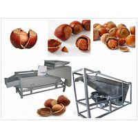 (200-300 kg/h) Hazelnut Shelling Machine and Separator