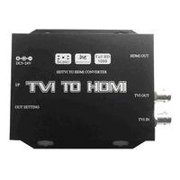 TVI to HDMI Converter