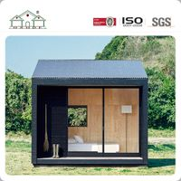 Factory Price Portable Light Steel Structure Small Prefab Villa