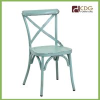 Manual Work Modern Luxury High Back Restaurant Chairs thumbnail image