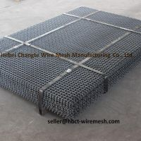 High Tensile Strength And Toughness Crimped Woven Wire Mesh Wear - Resisting