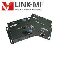 LINK-MI 120m hdmi super extender by cat-5e/6 allowed IR remote control,120m HDMI extender cat5e x1 o thumbnail image
