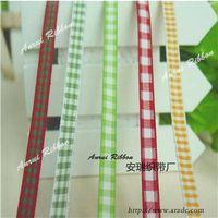 Tartan ribbon 6mm thumbnail image