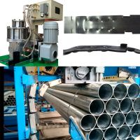 Flanded Notched Closure Sealless Joint Type Automatic Steel Pipe Strapping Machine