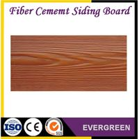 wooden grain fiber cement siding board