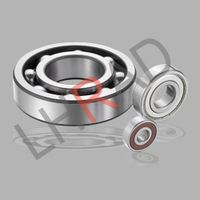 Deep groove ball bearings 6302zz for motor of cement machinery