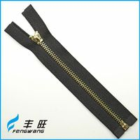 Best sale in roll metal zippers zips with high quality
