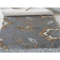 Jacquard stretch knit mattress fabric,la tela jacquard de punto estirado