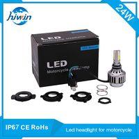 Hiwin 30W super bright LED motorcycle headlight high-low beam LED headlight