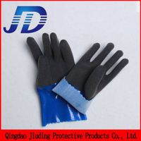 Oil resistant foam safety working gloves machinery