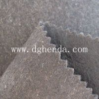 Black 0.8mm pk non woven fabric