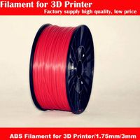 Factory supply high quality 1.75/3mm ABS Filament for 3D printer