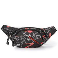 Reflective Stripes Waterproof Mens or Women Sport Waist Bag Running Belt