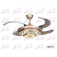 East Fan 42inch invisible Ceiling Fan with light item EF42241
