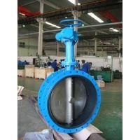 Extension bar butterfly valve, flanged butterfly valve