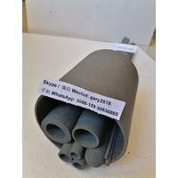 RSiC Tubes Sheaths with recrystaillized SiC ceramic, ReSiC tube, SiC ceramic furnace tube, China SiC