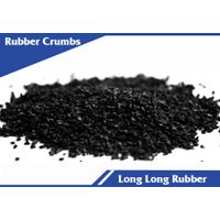 Recycled rubber crumbs for sport fields