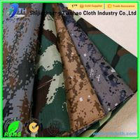 polyester cotton camouflage minitary uniform fabric