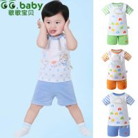 New Striped Summer Baby Sets Boy Girl 100%Cotton Short Sleeve Baby T-shirt Shorts Suits Toddler Newb