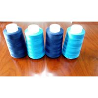 Factory price polyester sewing thread 40s/2 for weaving clothing