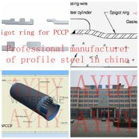 PCCP spigot ring plant from China